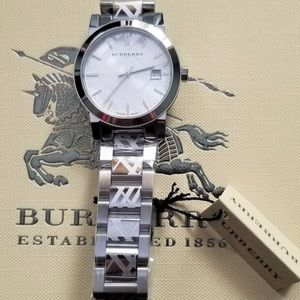 Burberry Accessories - ❌ TRADED ❌ Burberry stainless steel watch NWT